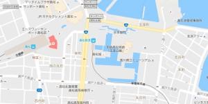 玉藻公園地図